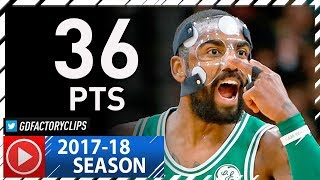 Download Masked Kyrie Irving Full Highlights vs Spurs (2017.12.08) - 36 Pts Video
