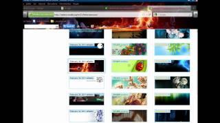 Download Tutorial como poner themes en su firefox 4 RC 2011 Video