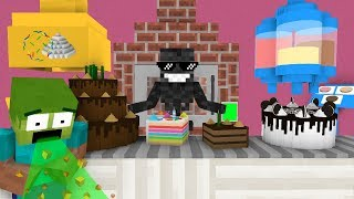 Download Monster School: WORK AT CAKE PLACE! - Minecraft Animation Video
