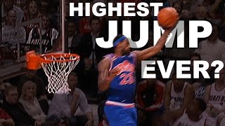 Download LeBron James Highest Jump EVER? Gets Head Over The Rim From 01.10.2010 Video