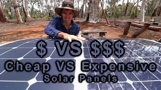 Download Cheap VS Expensive Solar Panels | 12v Touring | Project Cyan Video