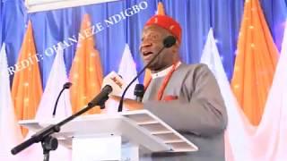 Download Amaechi, Nwodo Clash At UNIZIK Lecture Video