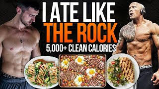 Download I Tried Dwayne ″THE ROCK″ Johnson's DIET... (IT SUCKED) Video