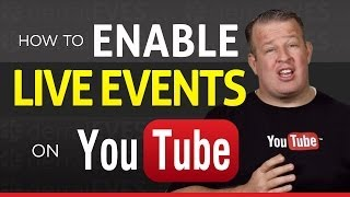 Download How to Enable Live Events on YouTube - 2014 Video
