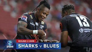 Download Sharks v Blues | Super Rugby 2019 Rd 2 Highlights Video