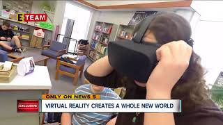 Download Virtual reality headsets teach Barberton students in entirely new way Video