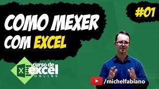 Download COMO MEXER NO EXCEL - Aula de Excel Básico: Aula 01-03 [ Microsoft Excel ] Video