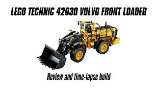 Download Lego Technic 42030 Volvo Front Loader Build & Review Video