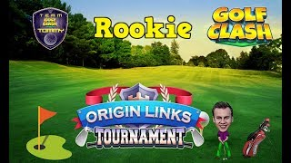 Download Golf Clash tips, Playthrough Hole 1-9 - Rookie Division! Origin Links Tournament! Video