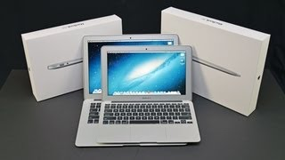 Download Apple MacBook Air 11″ & 13″ (2013): Unboxing and Comparison Video