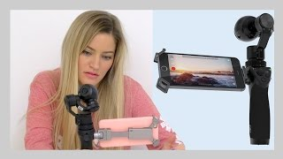 Download 4k Handheld Steady Camera! DJI Osmo unboxing and setup | iJustine Video