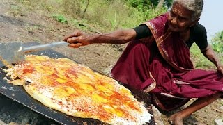 Download Tasty Egg Dosa    King of Egg Dosa By My Grandma's Village Style    Country Foods Video