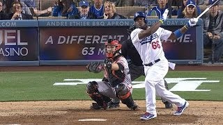 Download Puig takes pitch, launches homer, gets heated Video