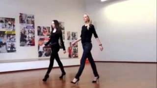 Download Catwalk Coach and Model; How to walk on a runway Video