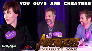 Download Avengers: Infinity War Cast Play Family Feud - Try Not To Laugh 2018 Video