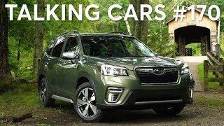 Download 2019 Subaru Forester; Waze, Google Maps & CarPlay; Alexa Auto   Talking Cars #170 Video
