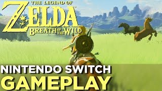 Download 17 Minutes of THE LEGEND OF ZELDA: BREATH OF THE WILD Nintendo Switch Gameplay Video