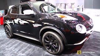 Download 2017 Nissan Juke SV AWD Black Pearl Edition - Exterior, Interior Walkaround - 2016 LA Auto Show Video