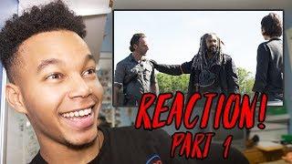 Download The Walking Dead Season 8 Episode 1 ″Mercy″ REACTION! (Part 1) Video