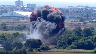 Download Crash aérien en Grande-Bretagne : au moins 7 mort lors d'un meeting Video