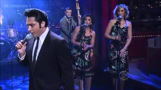 Download [HD] Justin Shandor - Can't Help Falling In Love (Elvis Week) - David Letterman 2-6-13 Video