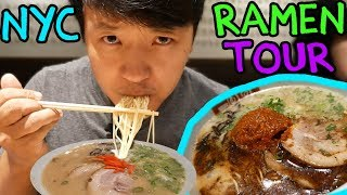 Download BEST Ramen Noodles in New York! New York City Ramen Tour Part 1 Video