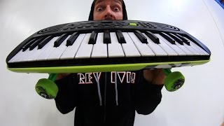 Download THE KEYBOARD SKATEBOARD! | YOU MAKE IT WE SKATE IT EP 96 Video
