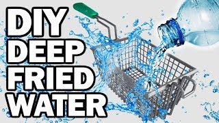 Download DIY DEEP FRIED WATER - Man Vs Fryer Video
