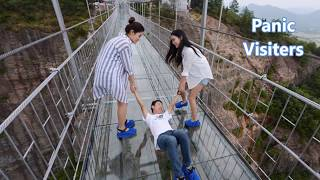 Download Glass bridge in china Video