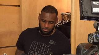 Download LeBron James on turnovers vs. Clippers Video