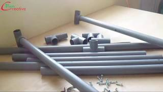 Download How to make a table at home with plastic pipes | DIY table Video