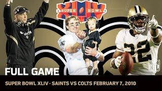 Download Super Bowl XLIV: Saints First Super Bowl | Saints vs. Colts | NFL Full Game Video