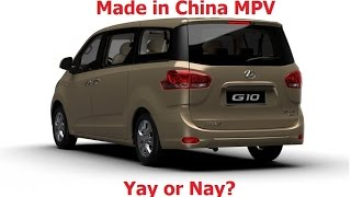 Download Made in China MPV! Yay or Nay? (Weststar Maxus G10 review) Video