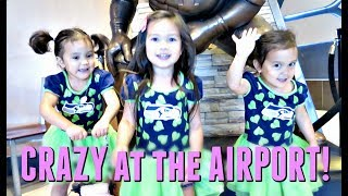 Download CRAZY at the AIRPORT! - July 14, 2017 - ItsJudysLife Vlogs Video