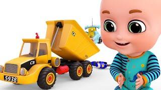 Download Surprise Eggs | Construction Truck for children New Set - Crane | Surprise Eggs from Jugnu Kids Video