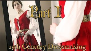 Download Making a 15th Century Princess Gown Part 1 || Historical Reconstruction Video