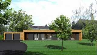 Download booa.fr Montage en une journée d'une maison ossature bois booa Video