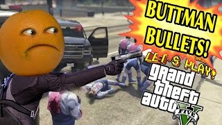 Download Annoying Orange Plays - GTA V: BUTTMAN BULLETS! Video