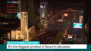 Download South Korea Protest: Thousands demand president step down Video