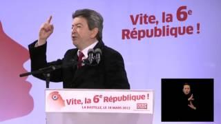 Download Discours de Jean-Luc Mélenchon à Bastille le 18 Mars 2012 Video