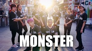 Download [KPOP IN PUBLIC CHALLENGE] EXO MONSTER Dance Cover by DAZZLING from Taiwan Video