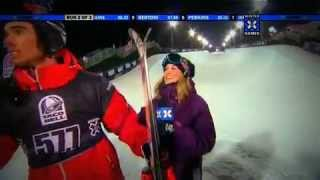 Download Kevin Rolland Ski Superpipe Gold medal winter X-games XIV Video