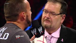 Download Ryback puts a stop to CM Punk ruining JR Appreciation Night: Raw, Oct. 1, 2012 Video
