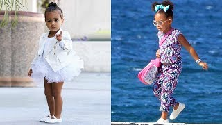 Download Kim Kardashian's Daughter vs Beyonce's Daughter - Who Is The Most Fashionable.? ★ 2018 Video