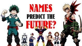 Download How HERO NAMES Predict FUTURE EPISODES (My Hero Academia, Season 2 Episode 13 Theory, BNHA) Video