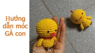 Download How to crochet chicken - hướng dẫn móc gà con p1 - Boom House Video