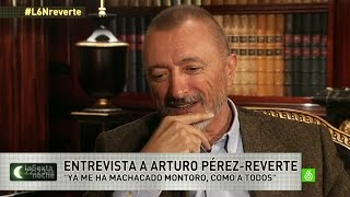 Download laSexta Noche | Arturo Pérez-Reverte: ″Los políticos son cómplices, les falta besarse con lengua″ Video