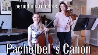 Download Pachelbel Canon in D (is NOT boring!) - on period instruments/baroque violin/cello Video