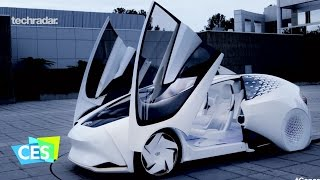 Download Toyota Concept-i self driving car at CES 2017 Video
