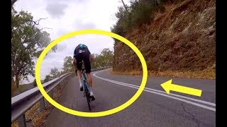 Download The Day Chris Froome Got DROPPED By An Ex Pro Up Corkscrew Road Caught On Camera Video